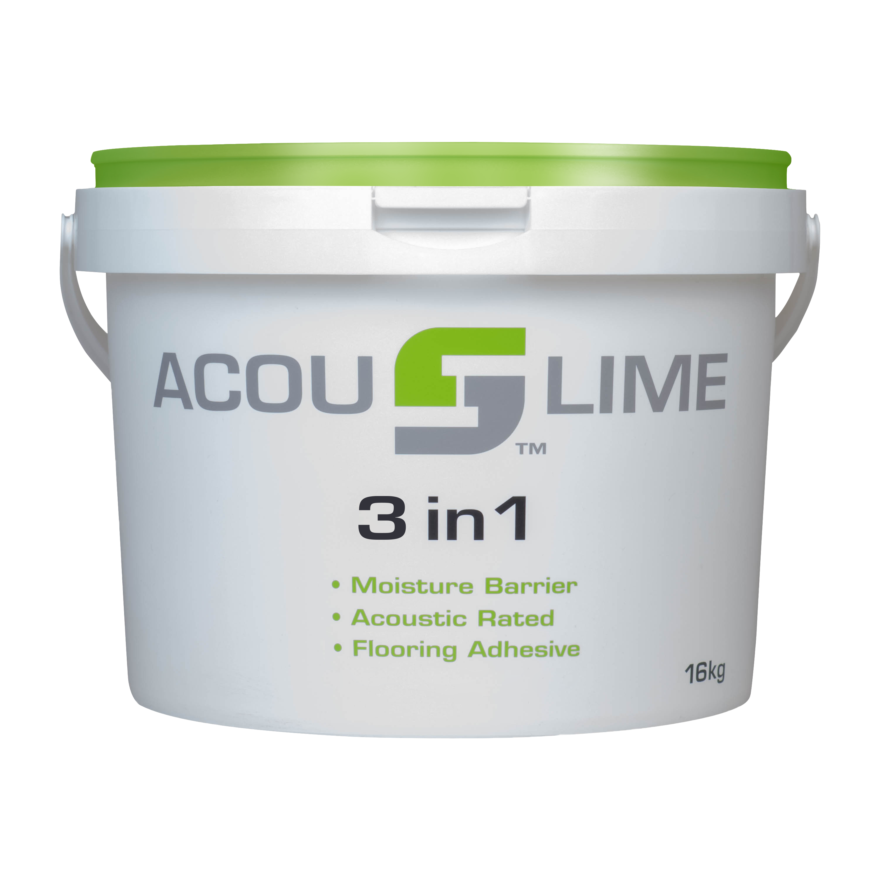 ACOUSLIME 3 IN 1 BUCKET WITH GREEN LID