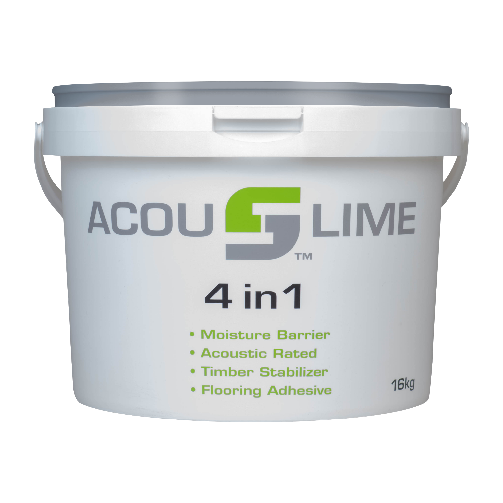 ACOUSLIME 4 IN 1 SQUARE TUB WITH GREY LID